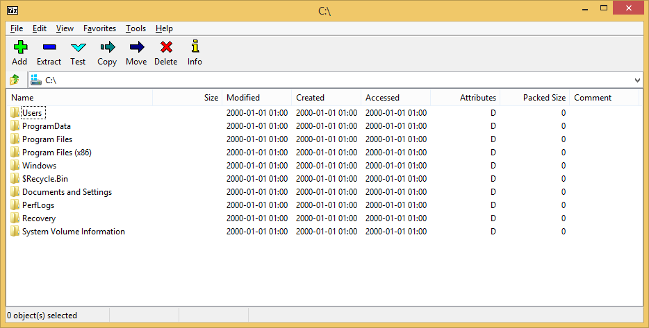 7-Zip's screenshot