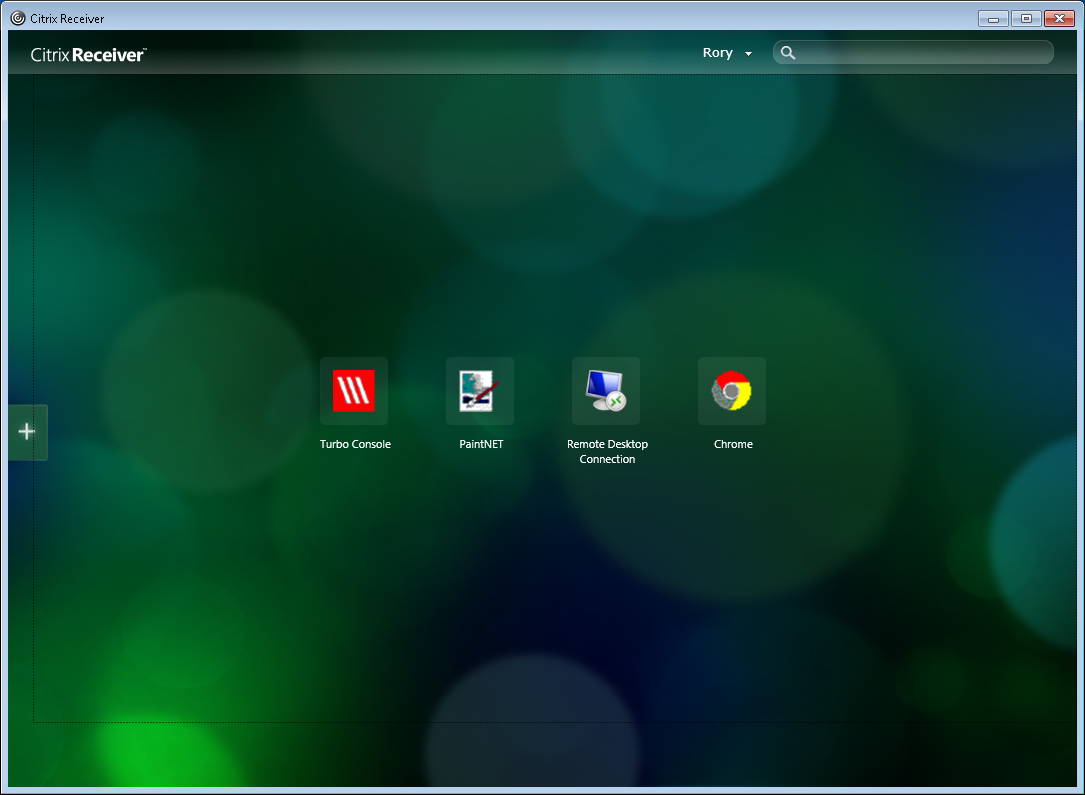 Citrix Receiver's screenshot