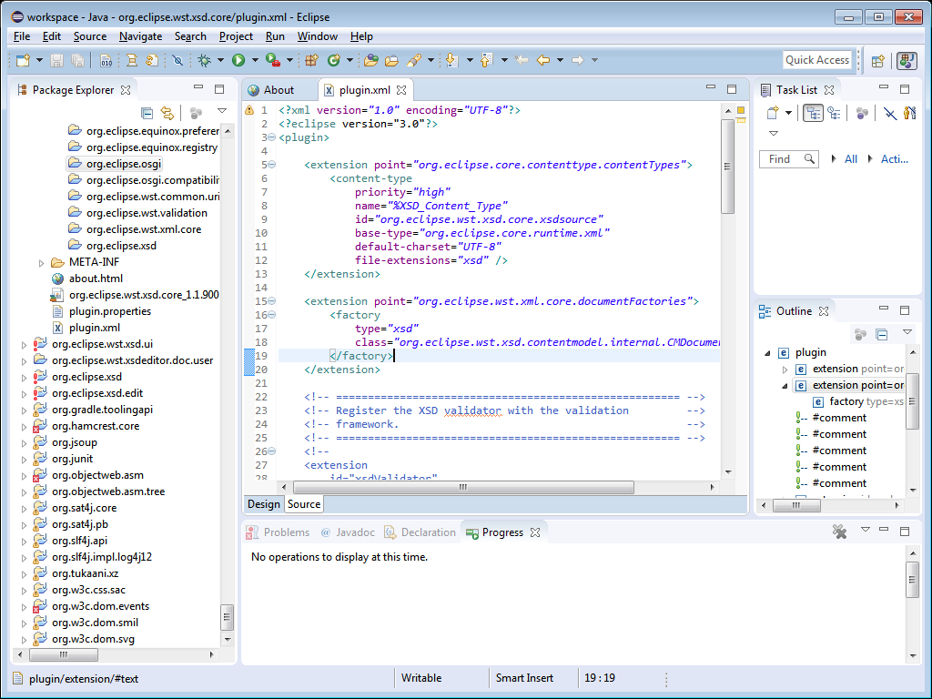 Eclipse Source Code's screenshot