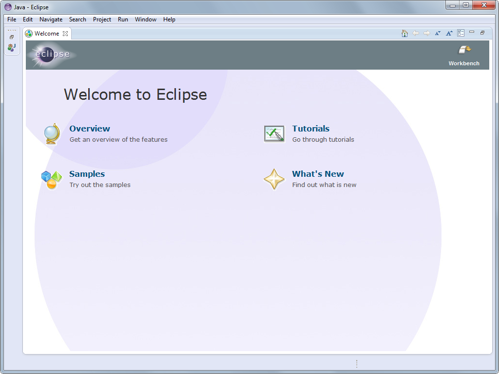Eclipse's screenshot