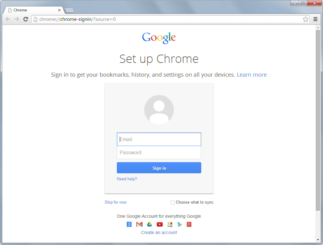 Chrome Base's screenshot