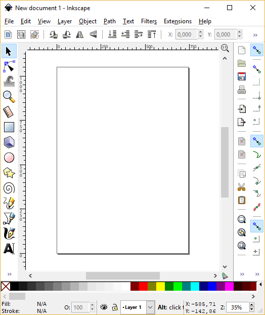 Inkscape's screenshot