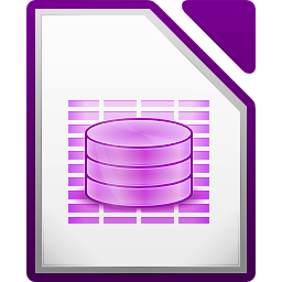 LibreOffice Base Still's icon