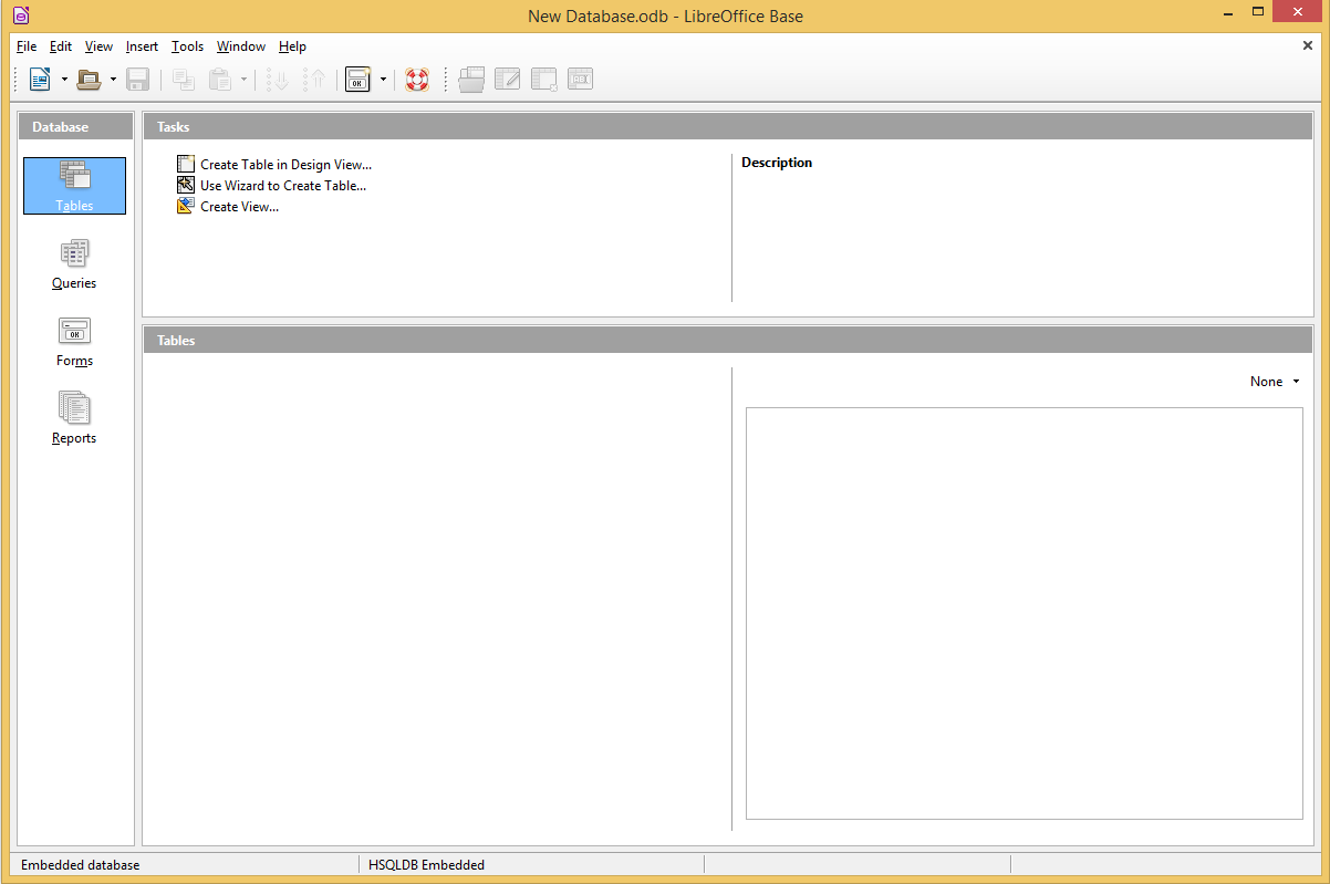LibreOffice Base's screenshot