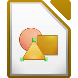 LibreOffice Draw's icon