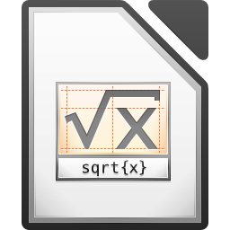 LibreOffice Math Still's icon