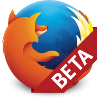 Firefox Beta's icon