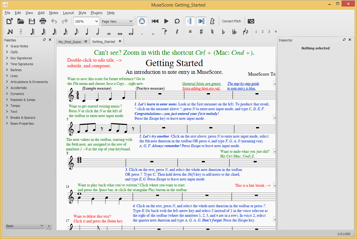 MuseScore 's screenshot