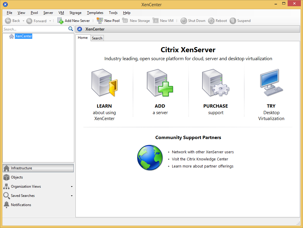 Citrix XenCenter's screenshot